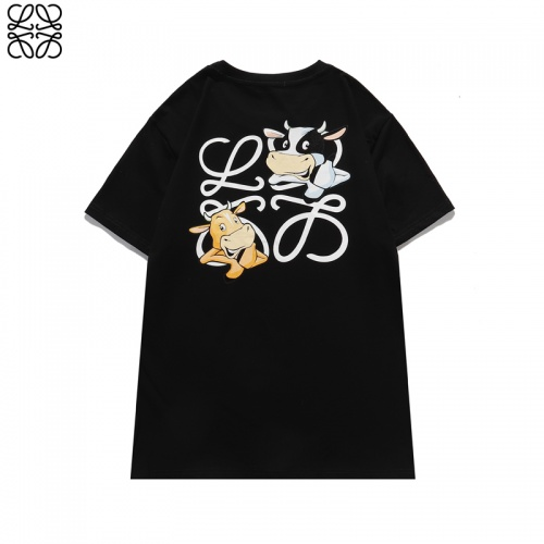Replica LOEWE T-Shirts Short Sleeved For Unisex #842296 $29.00 USD for Wholesale
