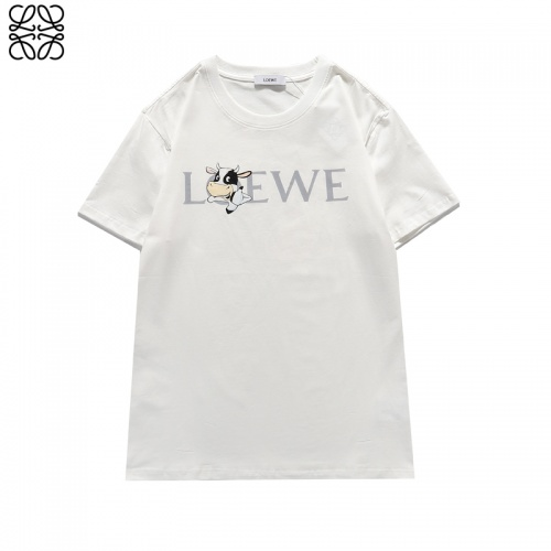 LOEWE T-Shirts Short Sleeved For Unisex #842297