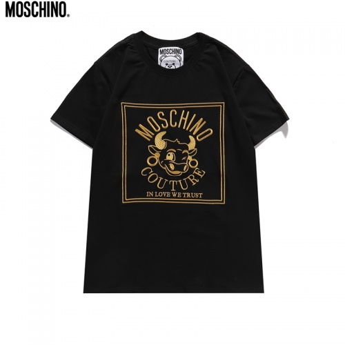 Moschino T-Shirts Short Sleeved For Unisex #842312