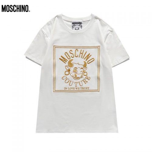 Moschino T-Shirts Short Sleeved For Unisex #842313