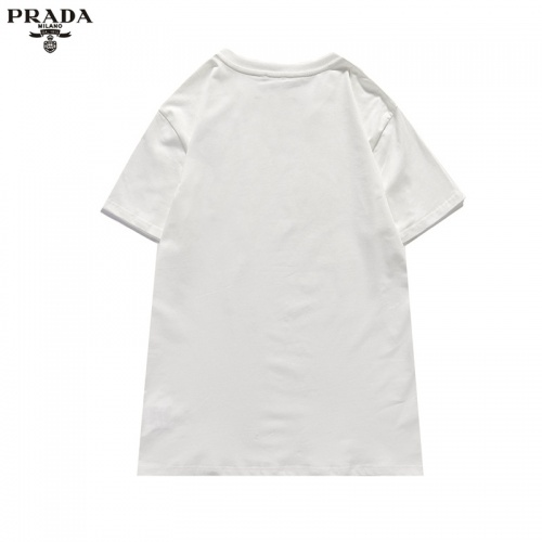 Replica Prada T-Shirts Short Sleeved For Unisex #842317 $29.00 USD for Wholesale