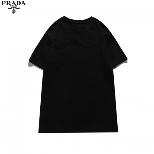 Replica Prada T-Shirts Short Sleeved For Unisex #842318 $29.00 USD for Wholesale
