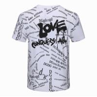 $24.00 USD Dolce & Gabbana D&G T-Shirts Short Sleeved For Men #840878