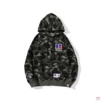 $48.00 USD Bape Hoodies Long Sleeved For Men #842255