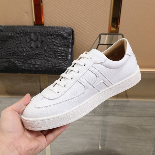 Replica Hermes Casual Shoes For Men #842469 $88.00 USD for Wholesale