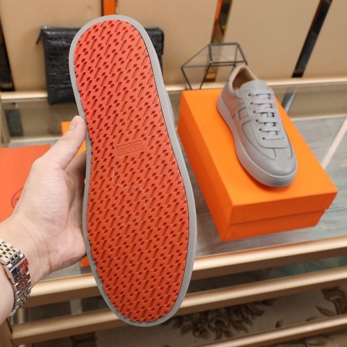 Replica Hermes Casual Shoes For Men #842470 $88.00 USD for Wholesale
