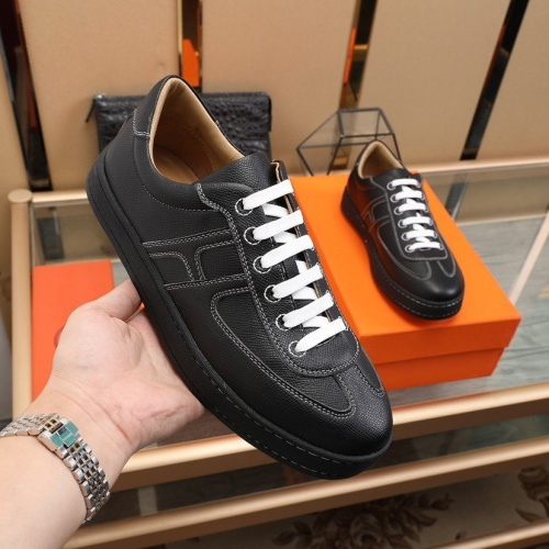 Replica Hermes Casual Shoes For Men #842471 $88.00 USD for Wholesale