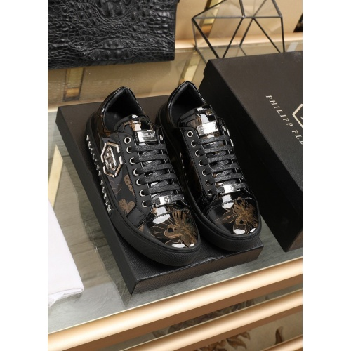 Philipp Plein PP Leather Shoes For Men #842472