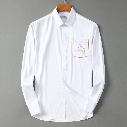 Hermes Shirts Long Sleeved For Men #842484