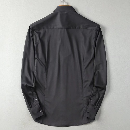 Replica Hermes Shirts Long Sleeved For Men #842485 $45.00 USD for Wholesale