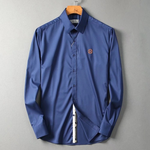 Hermes Shirts Long Sleeved For Men #842486 $42.00 USD, Wholesale Replica Hermes Shirts