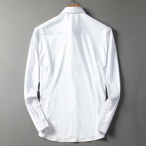 Replica Hermes Shirts Long Sleeved For Men #842487 $42.00 USD for Wholesale