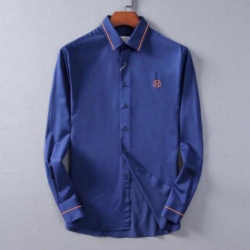 Hermes Shirts Long Sleeved For Men #842488