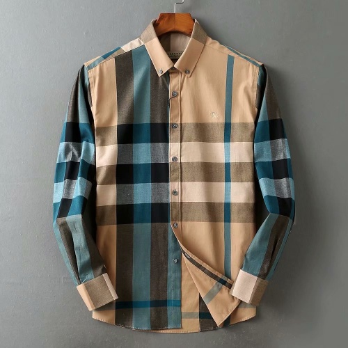 Burberry Shirts Long Sleeved For Men #842490