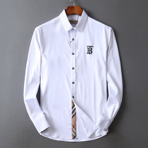 Burberry Shirts Long Sleeved For Men #842507