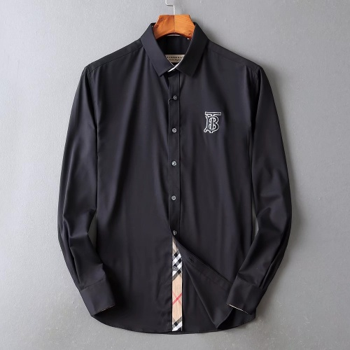 Burberry Shirts Long Sleeved For Men #842508 $42.00 USD, Wholesale Replica Burberry Shirts