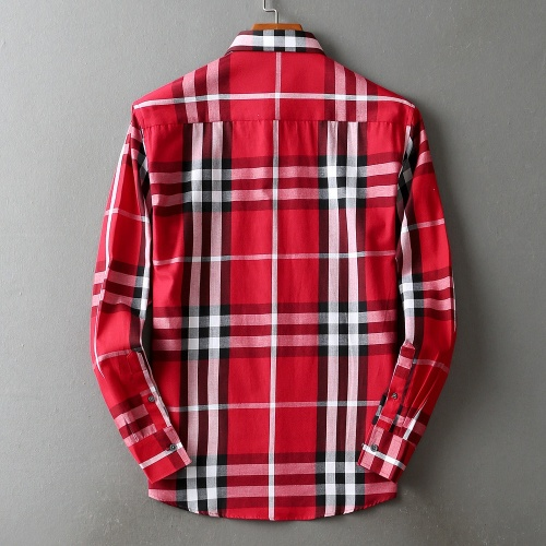Replica Burberry Shirts Long Sleeved For Men #842510 $42.00 USD for Wholesale