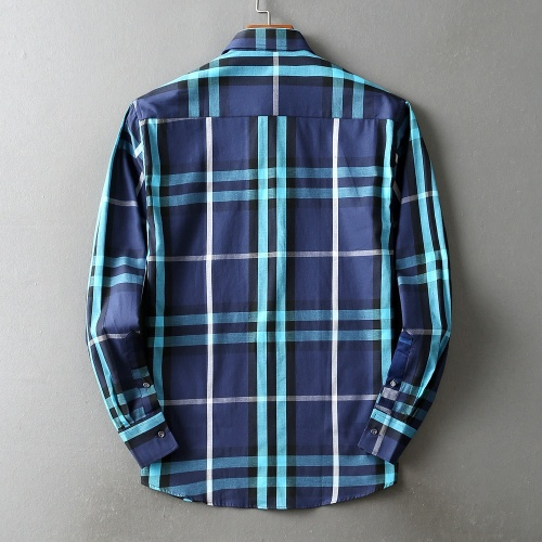Replica Burberry Shirts Long Sleeved For Men #842511 $42.00 USD for Wholesale