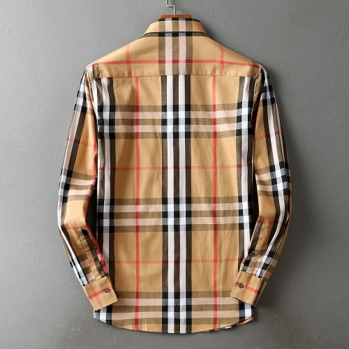 Replica Burberry Shirts Long Sleeved For Men #842512 $42.00 USD for Wholesale