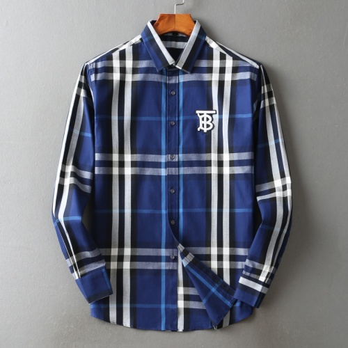 Burberry Shirts Long Sleeved For Men #842513