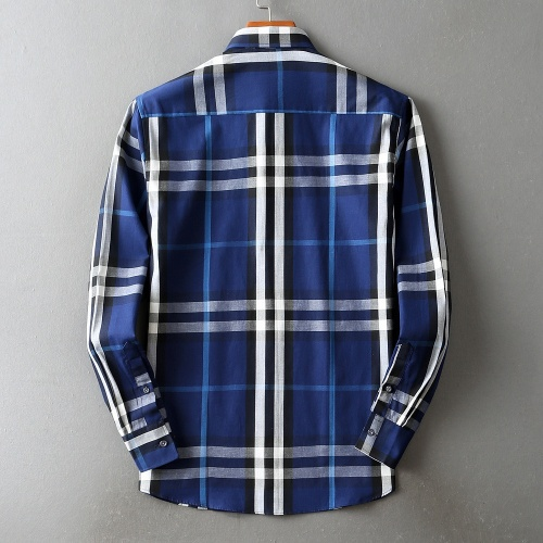 Replica Burberry Shirts Long Sleeved For Men #842513 $42.00 USD for Wholesale