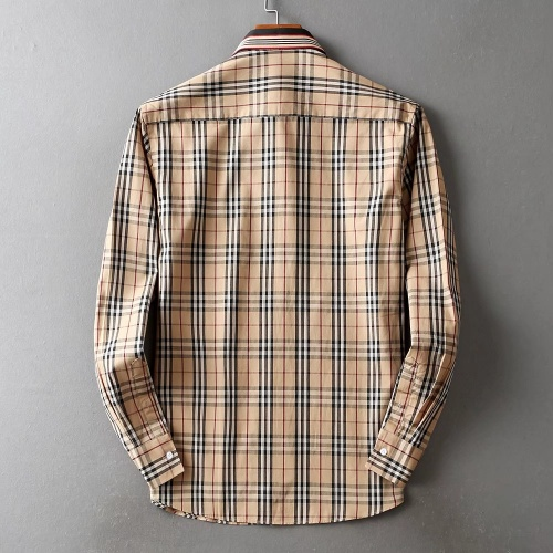 Replica Burberry Shirts Long Sleeved For Men #842514 $42.00 USD for Wholesale