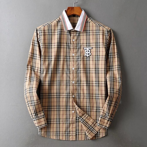 Burberry Shirts Long Sleeved For Men #842515
