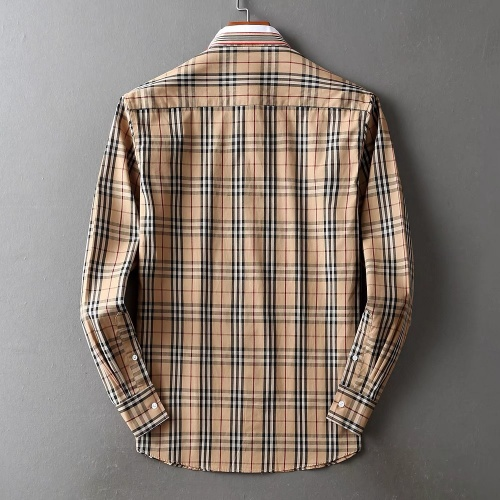 Replica Burberry Shirts Long Sleeved For Men #842515 $42.00 USD for Wholesale