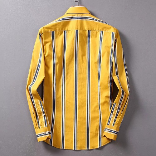 Replica Burberry Shirts Long Sleeved For Men #842516 $42.00 USD for Wholesale