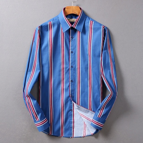 Burberry Shirts Long Sleeved For Men #842517 $42.00 USD, Wholesale Replica Burberry Shirts