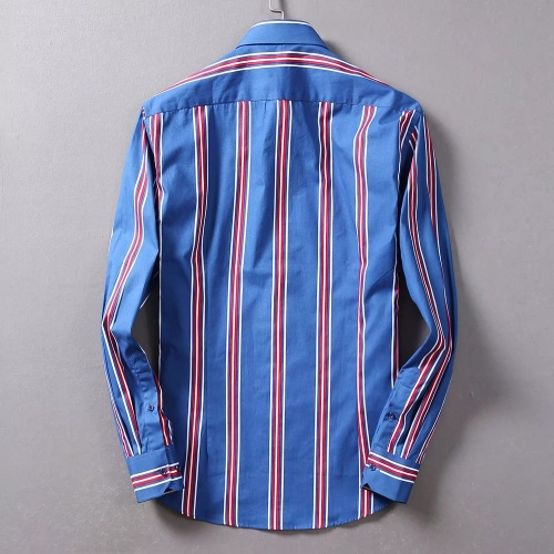 Replica Burberry Shirts Long Sleeved For Men #842517 $42.00 USD for Wholesale