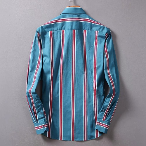 Replica Burberry Shirts Long Sleeved For Men #842518 $42.00 USD for Wholesale