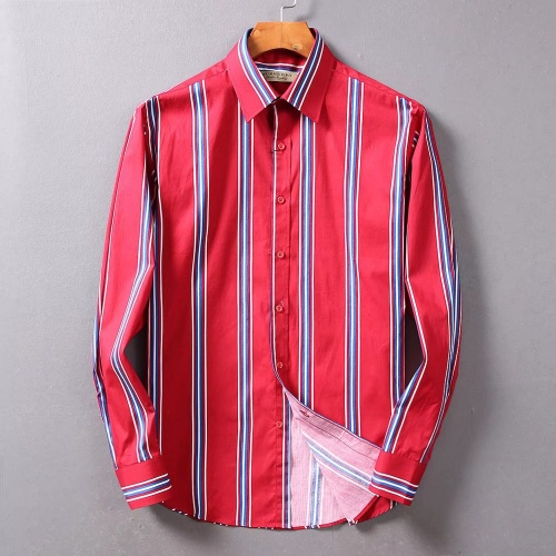 Burberry Shirts Long Sleeved For Men #842519 $42.00 USD, Wholesale Replica Burberry Shirts