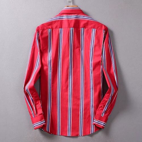Replica Burberry Shirts Long Sleeved For Men #842519 $42.00 USD for Wholesale