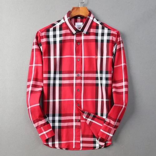 Burberry Shirts Long Sleeved For Men #842521 $42.00 USD, Wholesale Replica Burberry Shirts
