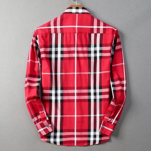 Replica Burberry Shirts Long Sleeved For Men #842521 $42.00 USD for Wholesale
