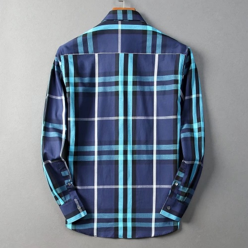 Replica Burberry Shirts Long Sleeved For Men #842522 $42.00 USD for Wholesale