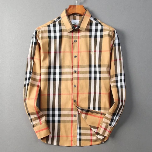 Burberry Shirts Long Sleeved For Men #842523