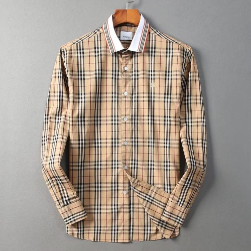 Burberry Shirts Long Sleeved For Men #842528