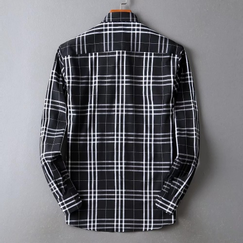 Replica Burberry Shirts Long Sleeved For Men #842529 $42.00 USD for Wholesale