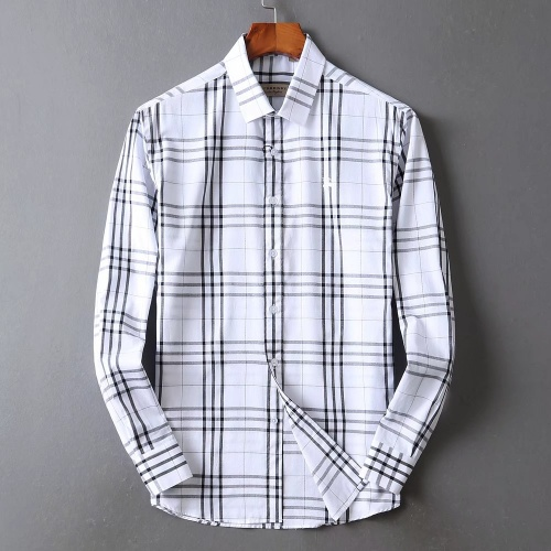 Burberry Shirts Long Sleeved For Men #842530 $42.00 USD, Wholesale Replica Burberry Shirts