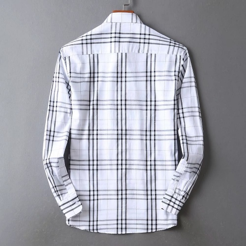 Replica Burberry Shirts Long Sleeved For Men #842530 $42.00 USD for Wholesale