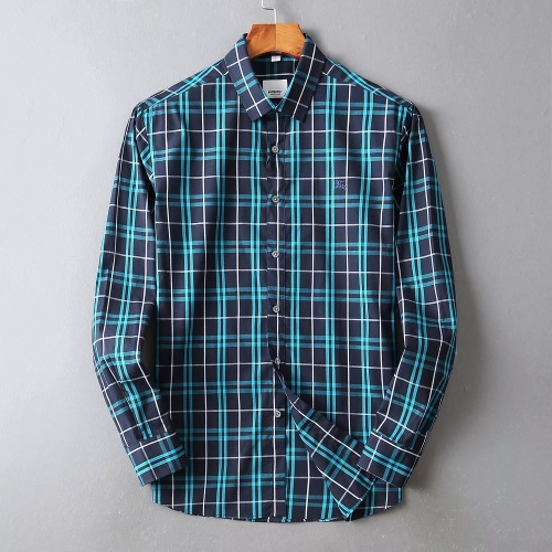 Burberry Shirts Long Sleeved For Men #842531 $42.00 USD, Wholesale Replica Burberry Shirts