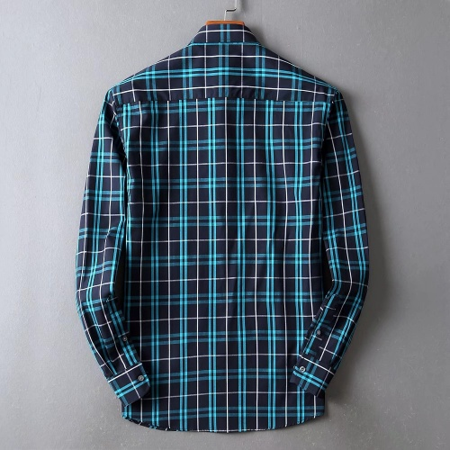 Replica Burberry Shirts Long Sleeved For Men #842531 $42.00 USD for Wholesale