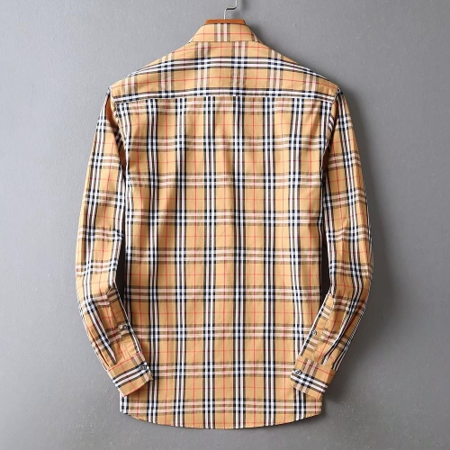 Replica Burberry Shirts Long Sleeved For Men #842532 $42.00 USD for Wholesale