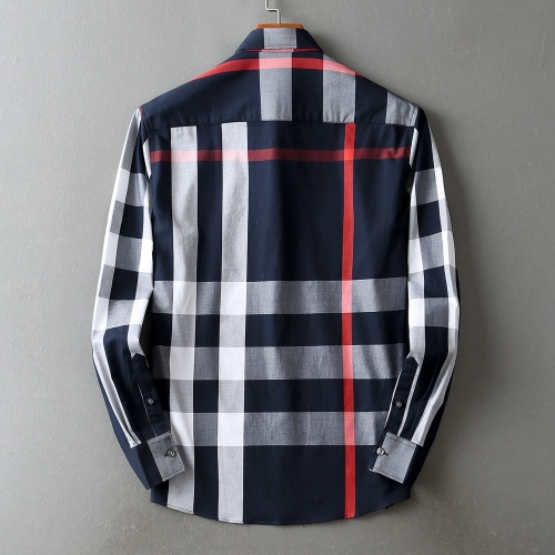 Replica Burberry Shirts Long Sleeved For Men #842533 $42.00 USD for Wholesale
