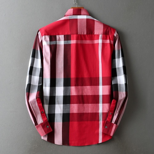 Replica Burberry Shirts Long Sleeved For Men #842534 $42.00 USD for Wholesale