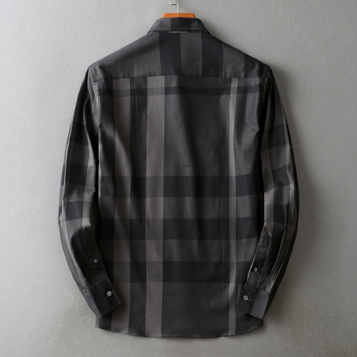 Burberry Shirts Long Sleeved For Men #842535 $42.00 USD, Wholesale Replica Burberry Shirts
