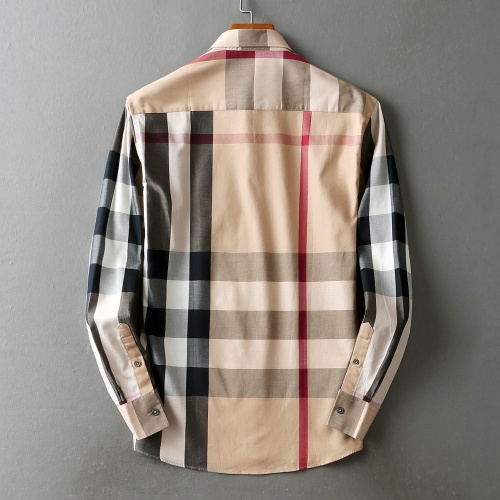 Replica Burberry Shirts Long Sleeved For Men #842536 $42.00 USD for Wholesale