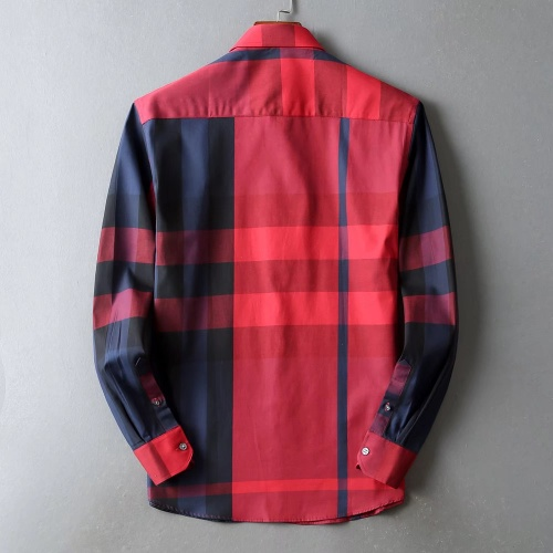 Replica Burberry Shirts Long Sleeved For Men #842537 $42.00 USD for Wholesale
